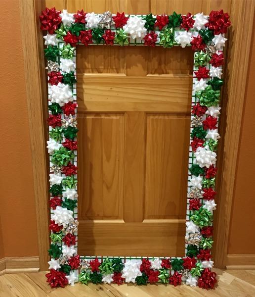 christmas selfie photo frame